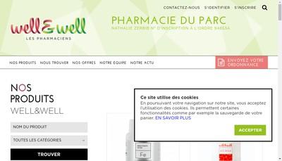 Site internet de SELARL Pharmacie Zerbib
