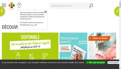 Site internet de Para-Lafayette