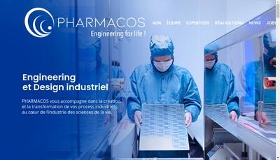 Site internet de Pharmacos Design