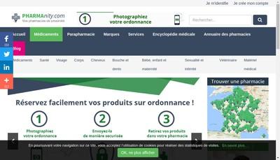 Site internet de Pharmacie de la Hardt - Hartmann
