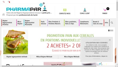 Site internet de Pharmapar