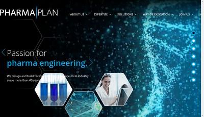 Site internet de Pharmaplan SAS
