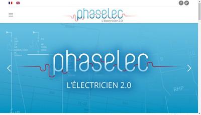 Site internet de Phaselec