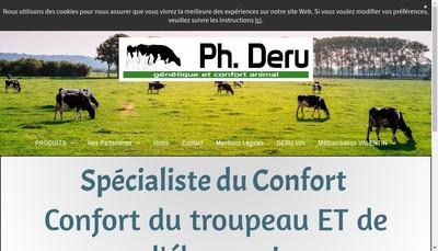 Site internet de Ph Deru