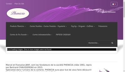 Site internet de Phenicia