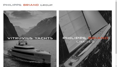 Site internet de Philippe Briand Yacht Design