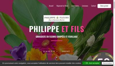 Site internet de Philippe et Fils