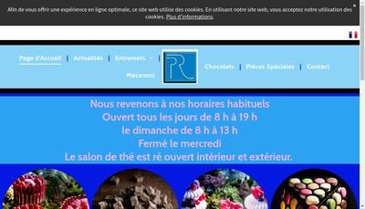 Site internet de Philippe Rigollot Patissier Chocolatier