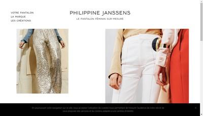 Site internet de Philippine Janssens