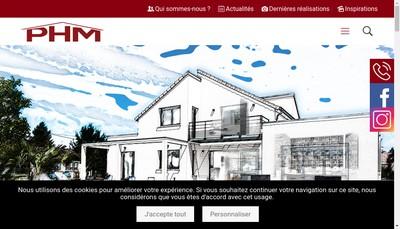 Site internet de Phm Montpellier