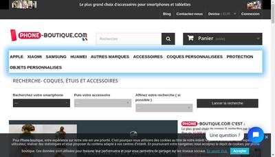 Site internet de Phon-Boutique Com
