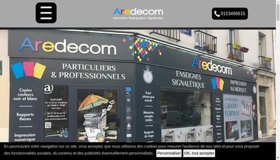 Site internet de Aredecom