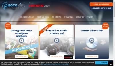 Site internet de Camara
