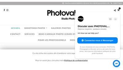 Site internet de Photoval