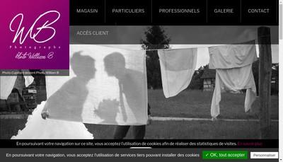 Site internet de Photo Cupillard