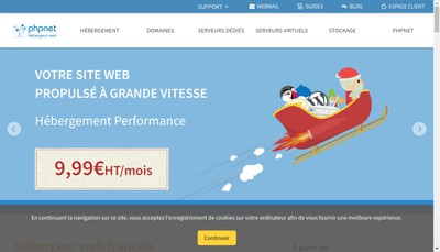 Site internet de Phpnet France