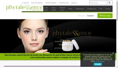 Site internet de Phytalessence