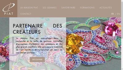 Site internet de SARL Piat