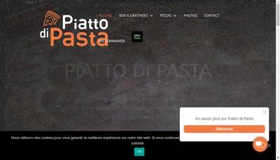 Site internet de Piatto Di Pasta