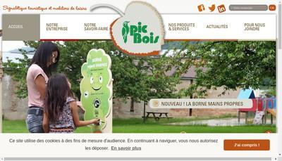 Site internet de Pic Bois Gravures