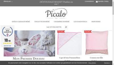 Site internet de Picalo