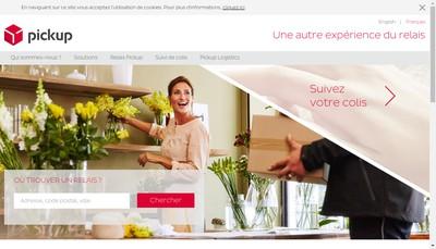 Site internet de Pickup Services
