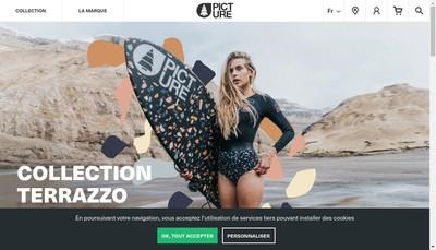 Site internet de Picture Organic Event