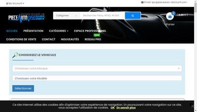 Site internet de Auto Discount Pieces
