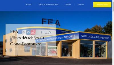 Site internet de FEA