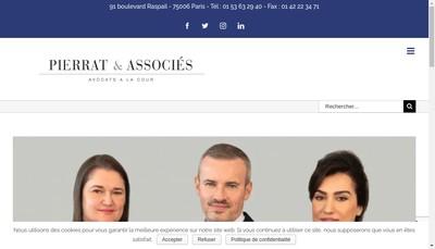 Site internet de Pierrat De Seze
