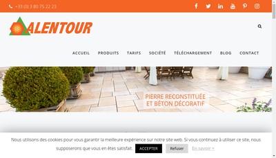 Site internet de Alentour