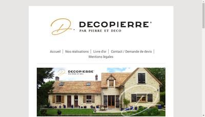 Site internet de Pierre et Deco