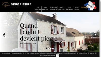 Site internet de Pierre d'Art et Deco