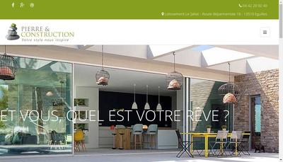 Site internet de Pierre et Construction