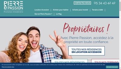 Site internet de Procivis Promotion Immob Midi-Pyrenees