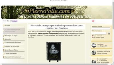Site internet de Pierrepolie Com