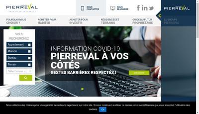 Site internet de Pierreval Partners
