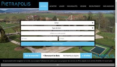 Site internet de Pietrapolis