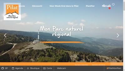 Site internet de Maison du Tourisme du Pilat