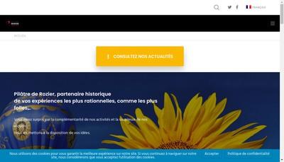Site internet de Pilatre de Rozier