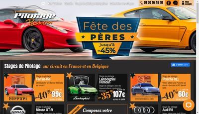 Site internet de Test Car Gt