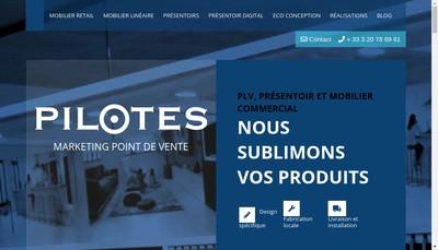 Site internet de Pilotes Plv