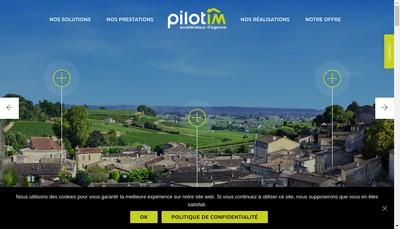 Site internet de Pilotim