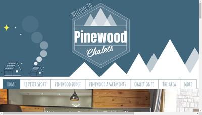 Site internet de Pinewood Chalets