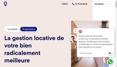 Site internet de Pinql