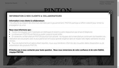 Site internet de Societe Ateliers Pinton