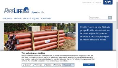 Site internet de Pipelife France