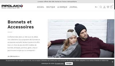 Site internet de Pipolaki