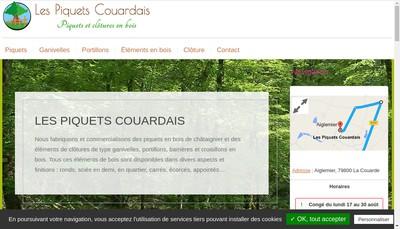 Site internet de SARL les Piquets Couardais