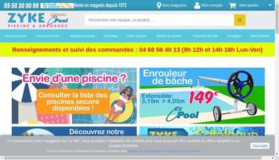 Site internet de Zyke